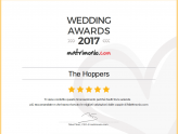 The Hoppers: Wedding Awards 2017