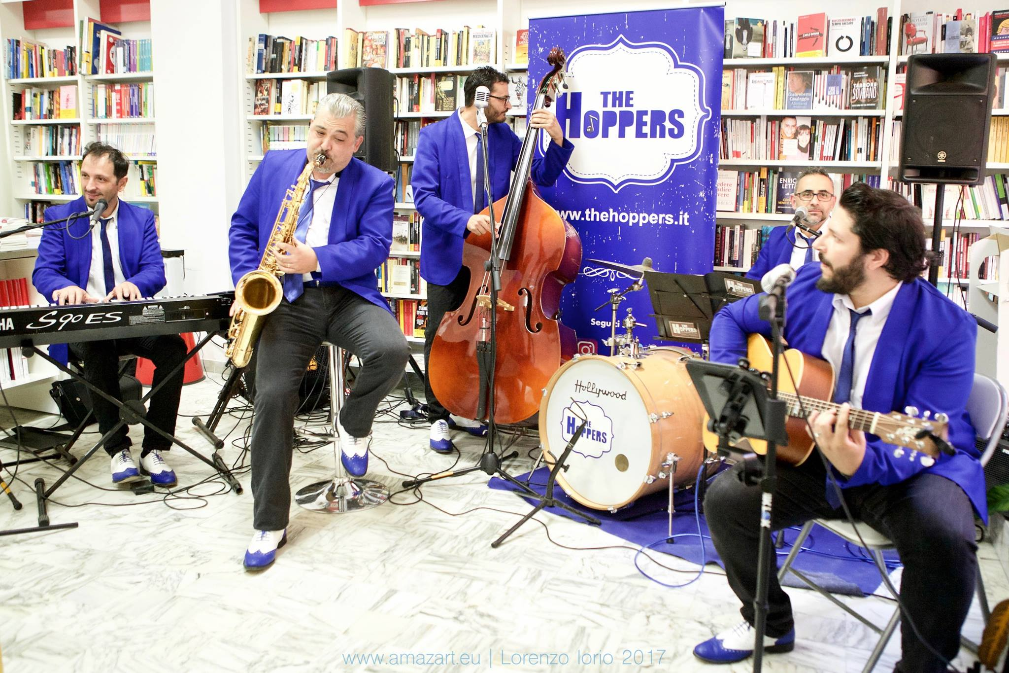 The Hoppers: Presentazione del Disco